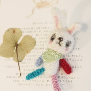 Hand-knitting bunny doll pins. Suitable for 1/6 doll shooting props