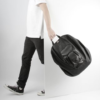 ORIBAGU Origami Pack_Black Lion Backpack
