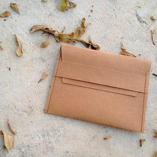 Card case : Kraft paper bag