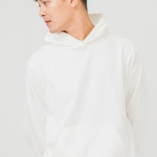 hao Ivory Cotton Hoddie ivory white cotton cap