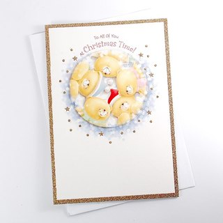 Happy birthday card [Hallmark-card Christmas series]