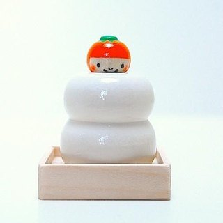 * Fly out Kokeshi * rice cake * Mikan-chan * [8]