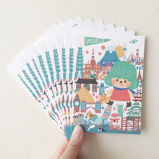 【Travel the world】 Postcard group (10 sets)