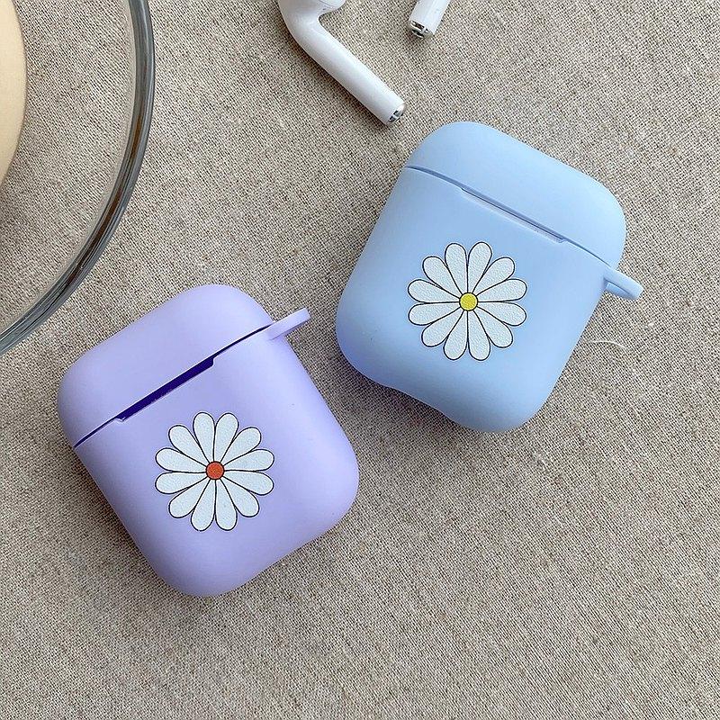 Pure Flower Airpods磨砂軟殼保護套 耳機殼
