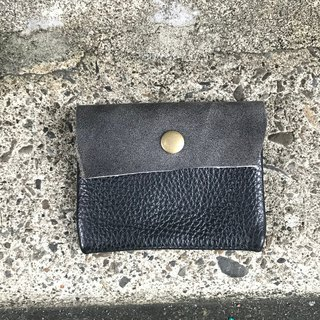 Sienna leather coin purse