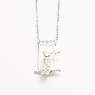 Rabbit Swinging Necklace