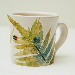 Small fern cup