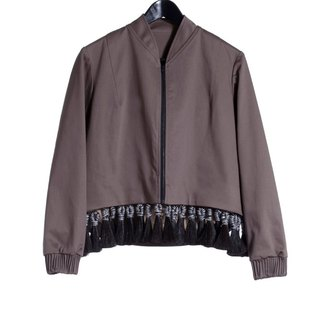 16 autumn and winter sale 16AW short version of the tassel jacket