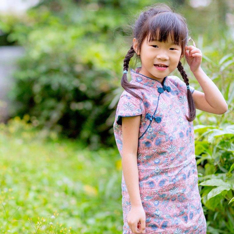 兒童旗袍 古風 冬季款 年年有魚