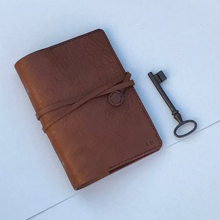 Florence A6 autumn chestnut  Leather Notebook Cover