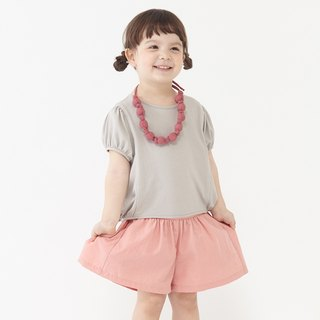 Ángeles- waist shorts skirt small fold (2-6Y)