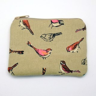 Zipper pouch / coin purse (padded) (ZS-242)