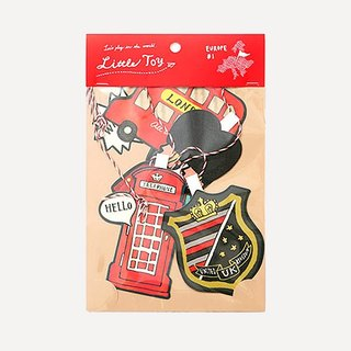 London Greeting Cards ornaments