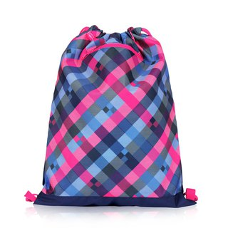 Tiger Family Explorer Lightweight Drawstring - Blueberry Grid