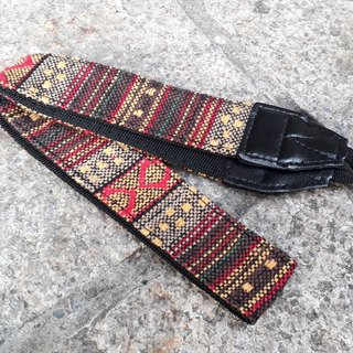 AMIN'S SHINY WORLD featured national jacquard cloth camera strap