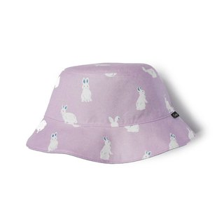 Berry blue-eyed bunny double-sided fisherman hat