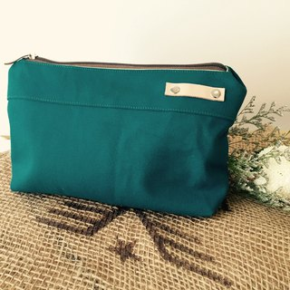 Teal  Shower Gifts Personalize Pouch, Toiletry Storage Makeup Pouch - KELLY