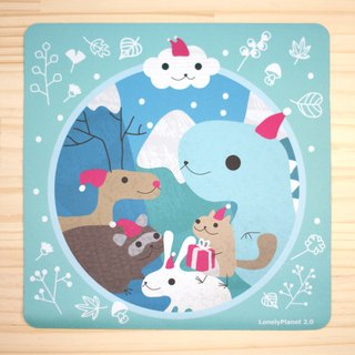 [Lonely Planet 2.0] Mouse Pad - Christmas Island Animals