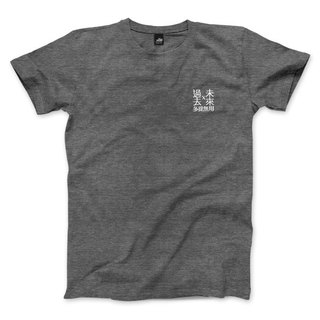 Past useless in the past - Shinan gray - neutral t-shirt