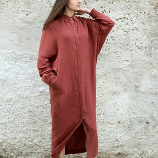 Linen Dress Motumo 16S12
