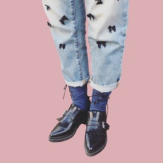 xxx # Indigo denim socks Rock socks RORO SOCKS