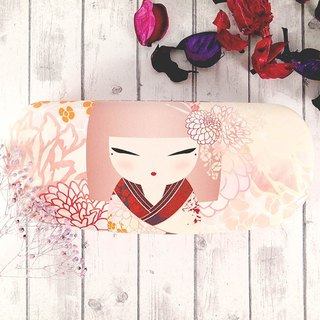 Glasses case - Hideka wise wisdom [Kimmidoll and blessing doll]