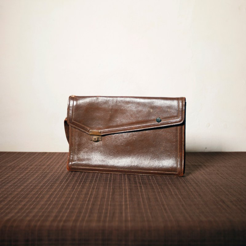 Shika Vintage Bag    leather clutch bag   antique bag old leather classic  old only this one - Designer modern-times  767c33876cce4
