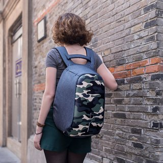 XDDESIGN BOBBY COMPACT Camouflage special security anti-theft backpack