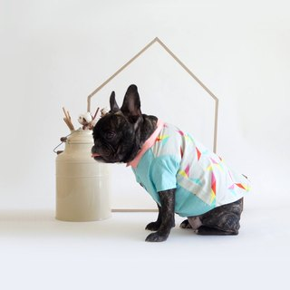 Geometric Shapes Print Shirt | For Dogs