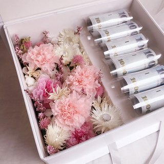 Mother's Day Carnation Gift Box / Mother's Day Gift / Birthday Gift / Opening Ceremony / floraflower / Dried Flowers