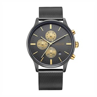 BAOGELA - STELVIO Black Gold Dial / Milan Watch Adjustable Watch
