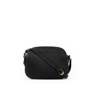 OBX Rounded shoulder bag, Black