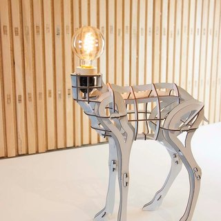 [DIY light biological series] DEER - atmosphere lamp - 110V - three-dimensional puzzle