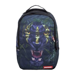 [SPRAYGROUND] DLX series Tribal Leopard tribal panther trend backpack