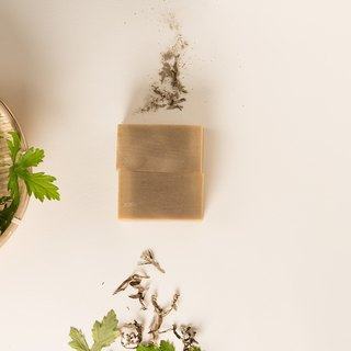 Water is made of white ten handmade soap - wormwood soap / bath soap / general skin