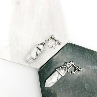 Marble 925 Silver Earrings 【Unisex Earrings】 【Marble】 【Christmas Gift】