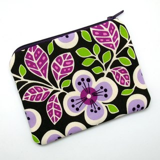 Zipper pouch / coin purse (padded) (ZS-203)