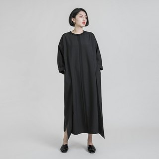 Prophecy predicts double pleated dress _8AF104_ black