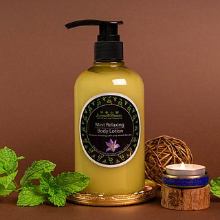 Mint Soothing Body Lotion - Wood
