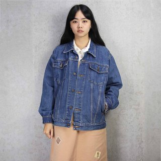 Tsubasa.Y Antique House A11 Vintage Denim Jacket, Denim Denim Denim Jacket