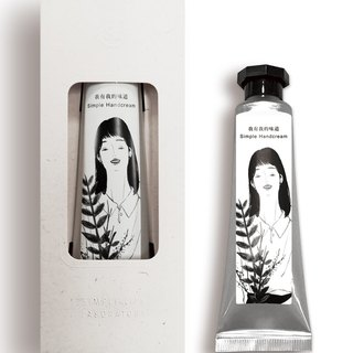 SLL Simple Handcream Hand Cream X Twelve yearning - crystal clear (chamomile)
