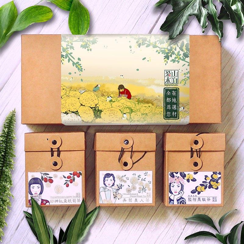 |端午禮盒|寵愛媽咪防護禮盒茶組