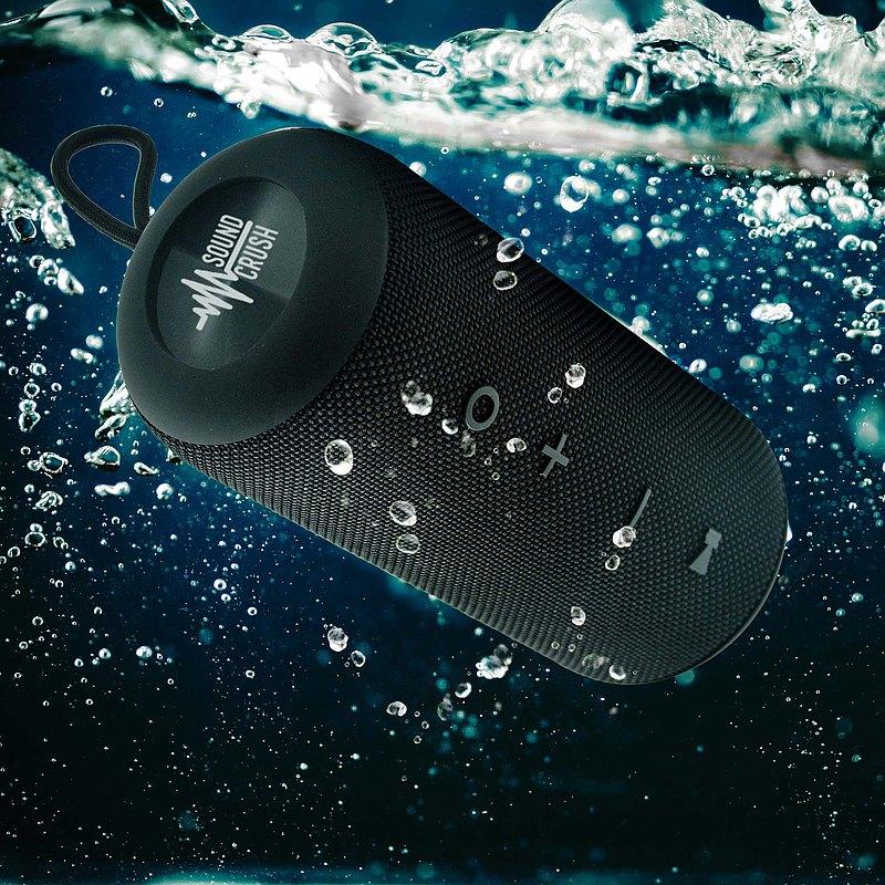【男朋友禮物精選】M7 Plus 360度防水便攜式藍芽喇叭 (TWS音效)