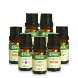 [Herbal True Feelings] Soothing Sweet Fragrance Series - Unilateral Essential Oil (10mlx7)