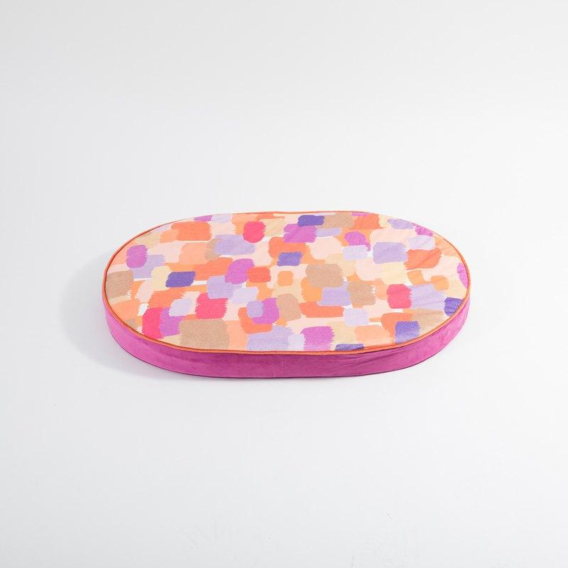 會呼吸的蒟蒻床墊 - 調色盤系列 - M號狗床 - 長95*寬66*高9CM
