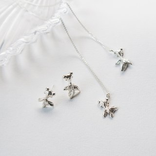 Small goldfish. Ear Needle, Clavicle Chain 1 + 1 Lucky Bag Little Goldfish. 1 + 1 Goody Bag