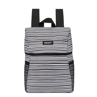 United States [PACKiT] ice cool picnic refrigerated backpack (classic black and white) cold bag