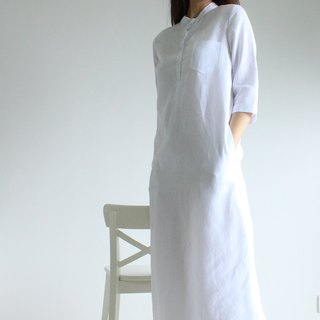Made to order linen dress / linen clothing / long dress / casual dress E18D