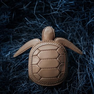 ONE+ Signature Limited Turtle Coin Purse 鞣牛牛海Turtle Bag