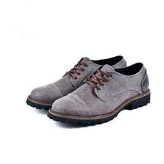 [Dogyball] simple Taiwanese men's shoes super breathable vamp super soft Q thick soles retro casual shoes